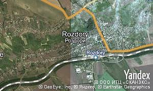 Map of  pgt Rozdory