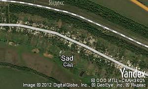 Yandex map of  pgt Sad