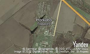 Map of  Horkoho