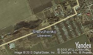 Map of  Shevchenko