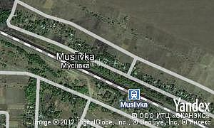Map of  Musiivka