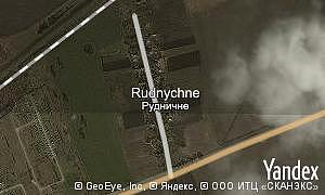 Map of  Rudnychne
