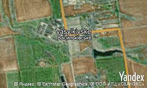 Map of  Vasylkivske