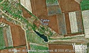 Map of  Tykhe
