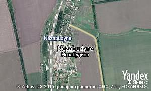 Map of  Nezabudyne