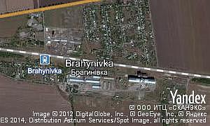 Map of  pgt Brahynivka