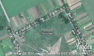 Map of  village Polove