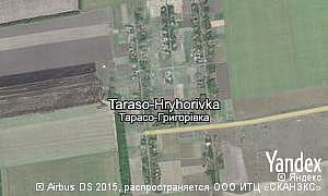 Map of  village Taraso-Hryhorivka