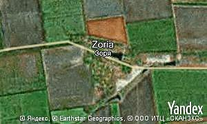 Map of  village Zoria