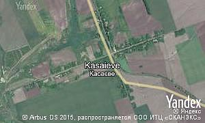 Map of  village Kasaieve