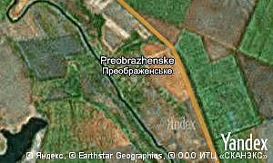 Map of  village Preobrazhenske