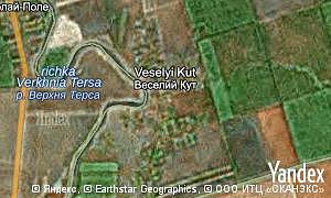 Map of  village Veselyi Kut