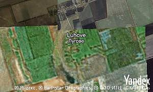 Map of  village Luhove