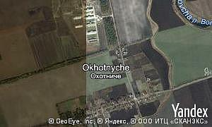 Map of  village Okhotnyche