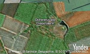 Map of  village Ocheretuvate