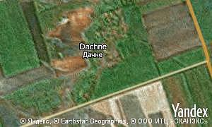 Map of  village Dachne