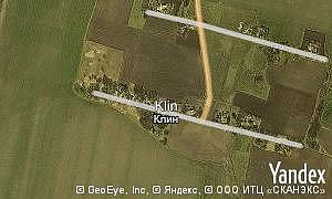 Map of  village Klin