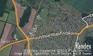 Map of  village Pushkarivka