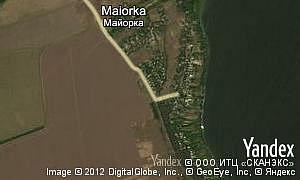 Map of  village Maiorka
