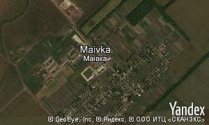 Map of  village Maivka