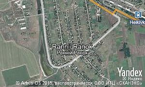 Map of  village Rannii Ranok
