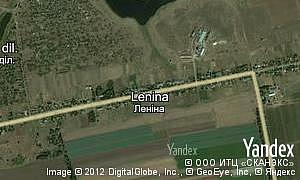 Map of  village Lenina