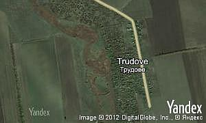 Map of  village Trudove