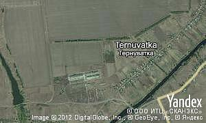Map of  village Ternuvatka