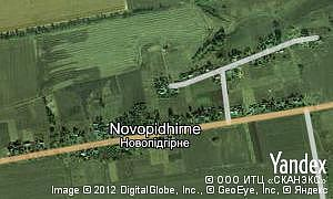 Map of  village Novopidhirne