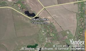 Map of  village Skeliuvatka