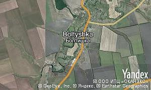 Map of  village Boltyshka