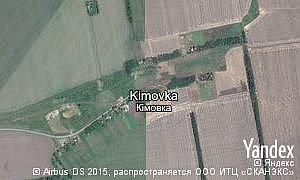 Map of  village Kimovka