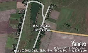Map of  village Kotliarivka