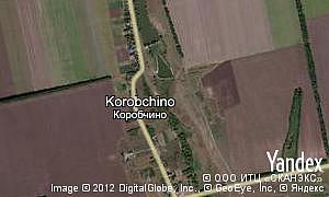 Map of  village Korobchino