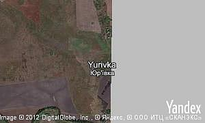 Map of  village Yurivka