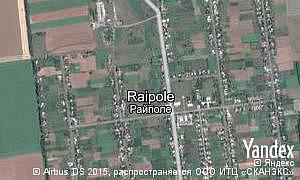 Map of  village Raipole