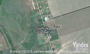 Map of  village Dovhivka