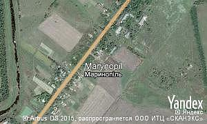 Map of  village Marynopil