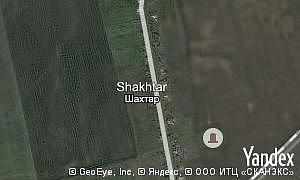 Map of  village Shakhtar