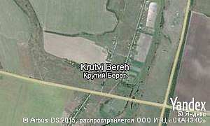 Map of  village Krutyi Bereh
