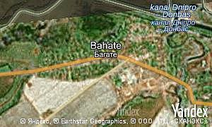 Map of  village Bahate