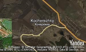 Map of  village Kocherezhky