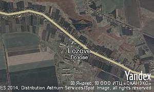 Map of  village Lozove
