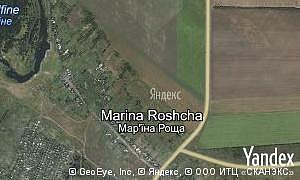 Map of  village Marina Roshcha