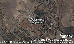 Map of  village Dobrynka