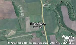 Map of  village Pishchane