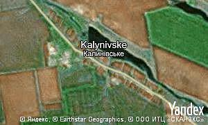 Map of  village Kalynivske