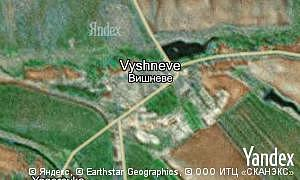 Map of  village Vyshneve