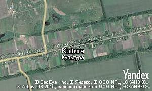 Map of  village Kultura
