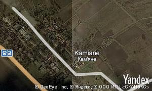 Google map of  village Kamiane
